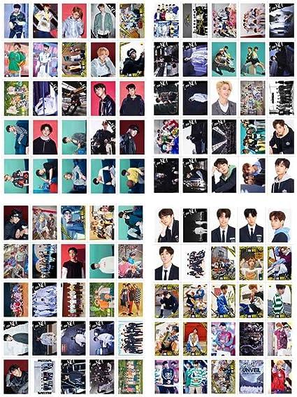 Style 01 Kunandroc Kpop Straykids 《Double n/œud》 Affiche du nouvel album photo Affiche tous les membres Affiche officielle prise en charge Photo de 2019