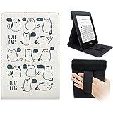 WALNEW Amazon Kindle Paperwhite cover permanente multi-viewing Kindle Paperwhite custodia con cinghia e funzione sleep/wake (Fit all Kindle Paperwhite 2012,2013,2015e versioni 2016)