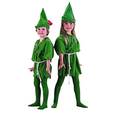 childs peter pan halloween costume size x small