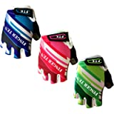 Kids Junior Cycling Gloves Outdoor Sport Road Mountain Bike Monkey Bars, Fit Boy Girl Youth Age 2-10, Gel Padding…