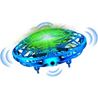 Bbtops Drone for Kids,UFO mini drone,Hand Operated Drone Flying UFO Toy, for 6 7 8 9 and Up Years Boys Girls Adults