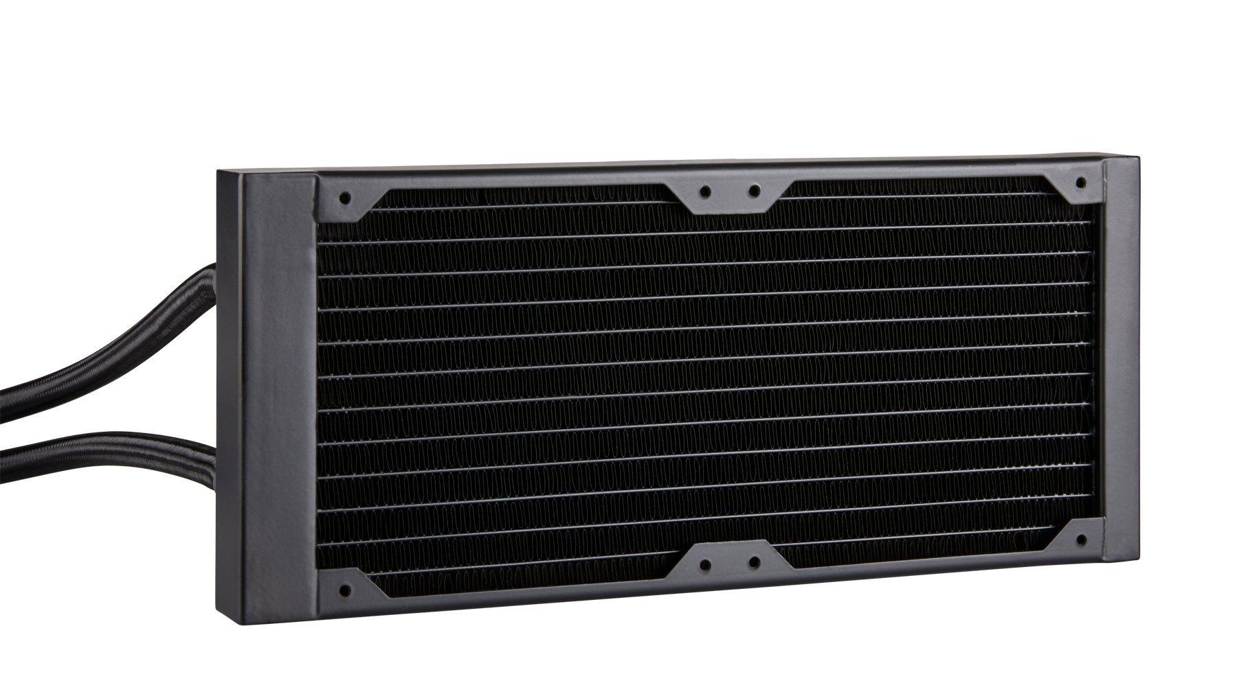 CORSAIR HYDRO Series H100i PRO RGB AIO Liquid CPU Cooler, 240mm, Dual ML120 PWM Fans, Intel 115x/2066, AMD AM4 by Corsair (Image #13)