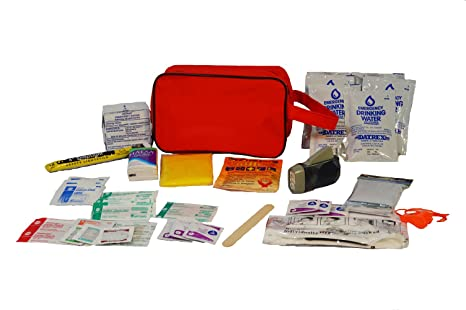 Earthquake Kit Emergency Commuter For Auto Home Or School