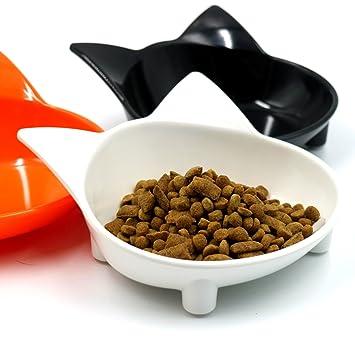 Queta Cuenco de melamina Antideslizante para Gatos, Cuencos Antideslizantes para Comer, Cuenco para Comida para Gatos, Color al Azar: Amazon.es: Productos ...