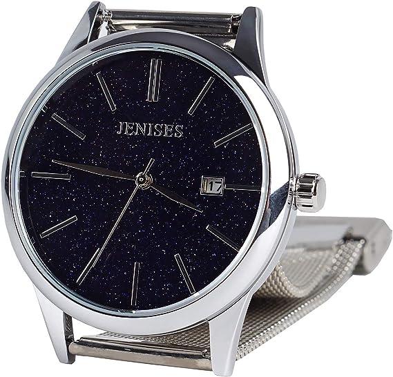Mens Ultra Thin Watches Watch Casual Chronograoh Wrist Watches for Men Fashion Watches Waterproof Men's Luminous Watch/Men's Starry Sky Watch