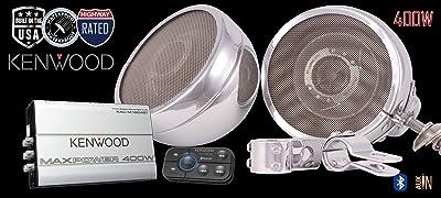 ST400 Kenwood Cruiser Motorcycle Speaker Stereo Radio System