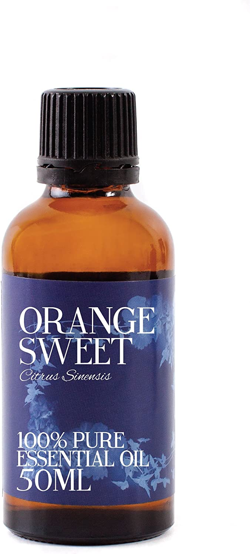 Aceite Esencial De Naranja Dulce - 50ml - 100% Puro