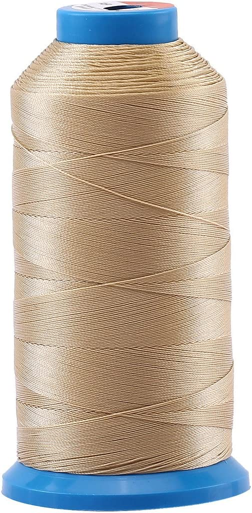 Leather Heavy Duty Bonded Nylon Threads #69 T70 Size 210D//3 for Upholstery Selric Vinyl 1500 Yards//Coated//No Unravel//21 Colors Available Red and Other Heavy Fabric