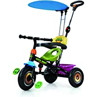 BAYBEE Duster Tricycle with Canopy, Black