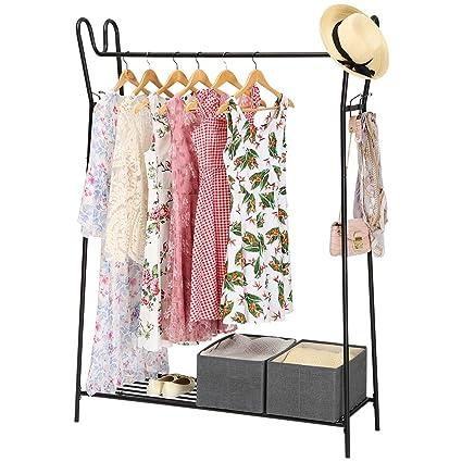 Amazon Com Langria Modern Heavy Duty Garment Rack With Single