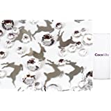 1 x Coco&Bo - Sparkling Leaping Reindeer Table Confetti - Silver and Diamonds - Christmas Table Party Decorations