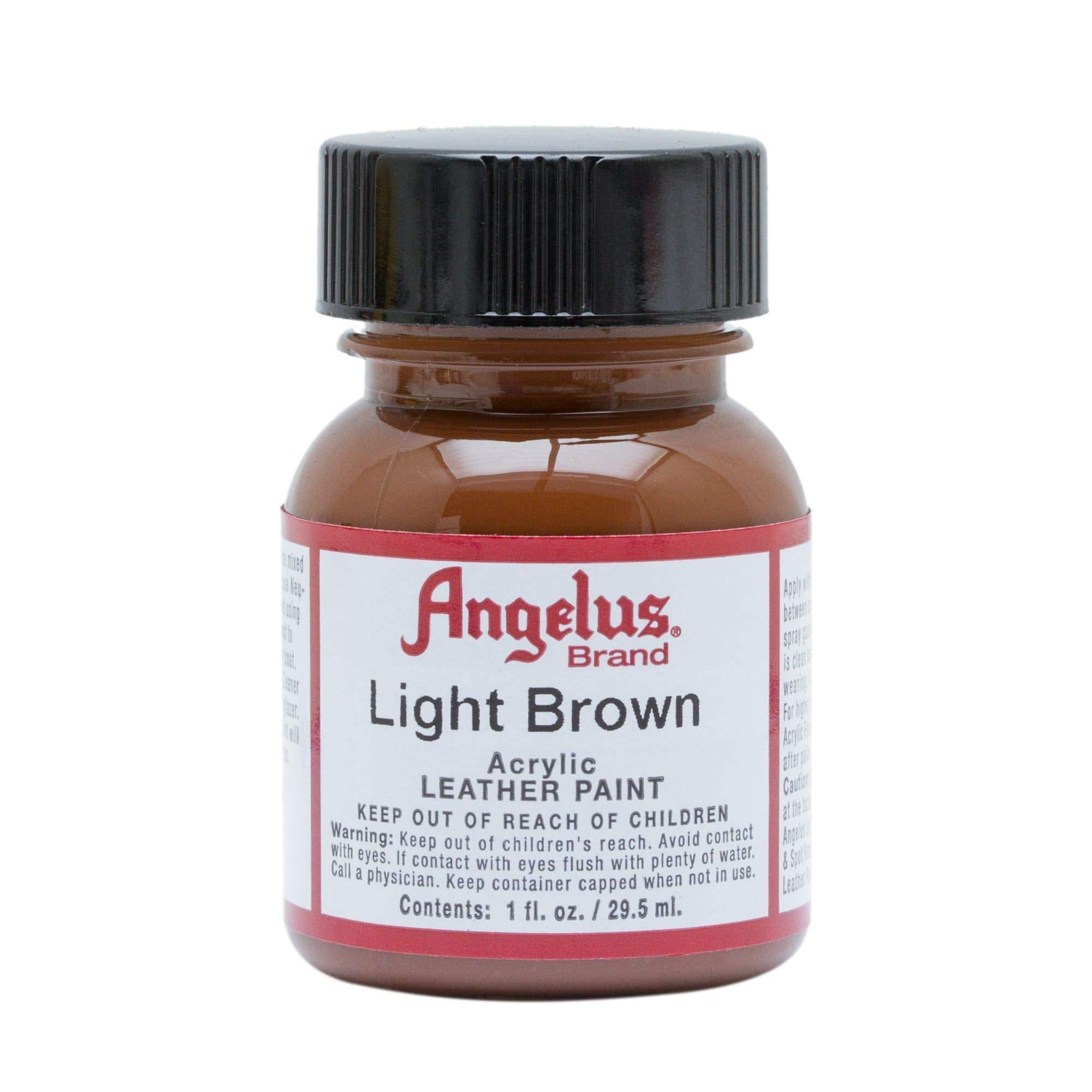 Angelus Pintura acrílica para cuero marrón claro 29.5ml