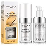 TLM Flawless Colour Changing liquid Foundation, Replenishing Cosmetic, Lightweight,Avashine Liquid Foundation, Concealer Cove