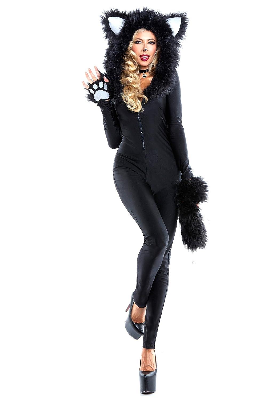 Damens's Furry Feline Fancy dress costume X-Large