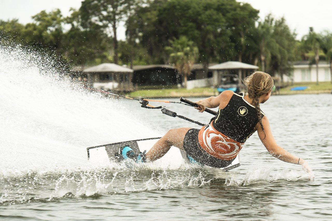 Cr Wakebar Harness Waterski Wakeboard Water Ski Tow Sports Outdoors