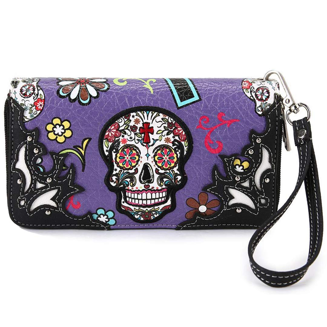 Sugar Skull Western Cross...