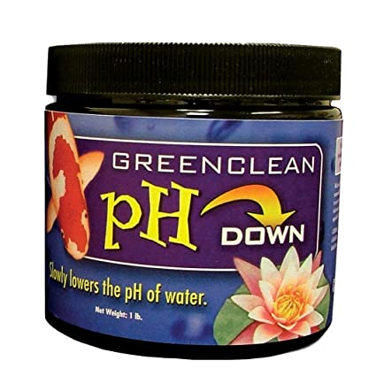 GreenClean pH DOWN Granular - 1 lb - pH Adjuster for Koi Ponds and Water  Features