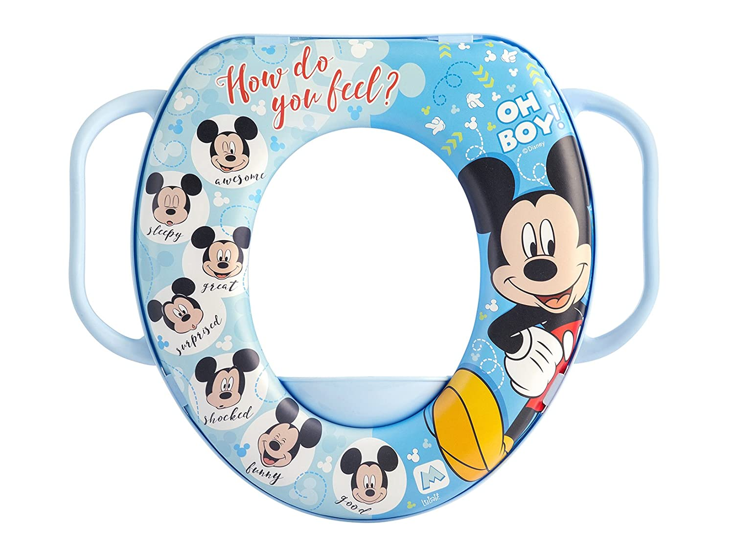 lulabi 8014 Disney Mickey réducteur WC Soft, multicolore 5500