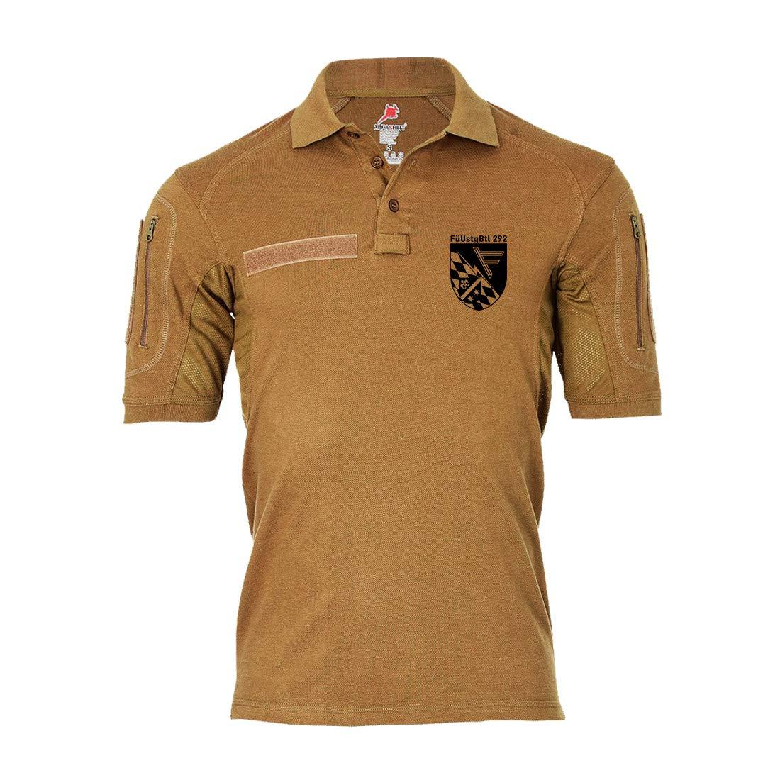 Copytec Tactical Poloshirt Alfa FüUstgBtl 292 Führungsunterstützungsbataillon BW #19200