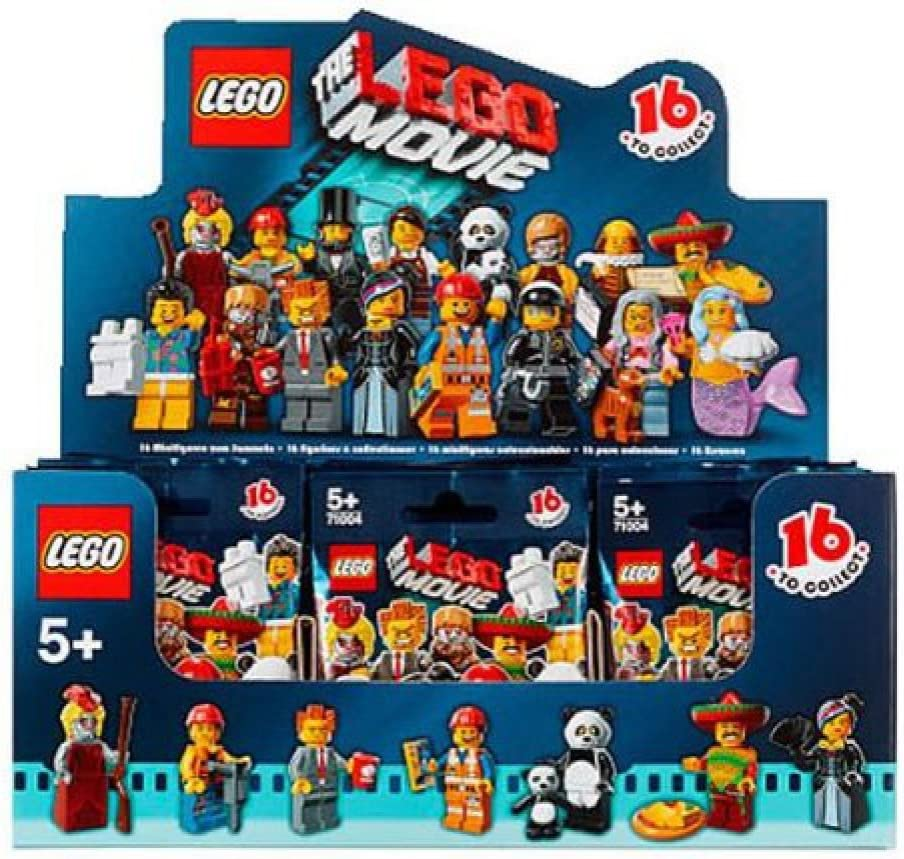 The LEGO Movie Series 12 Minifigures 71004 Sealed Case Box of 60