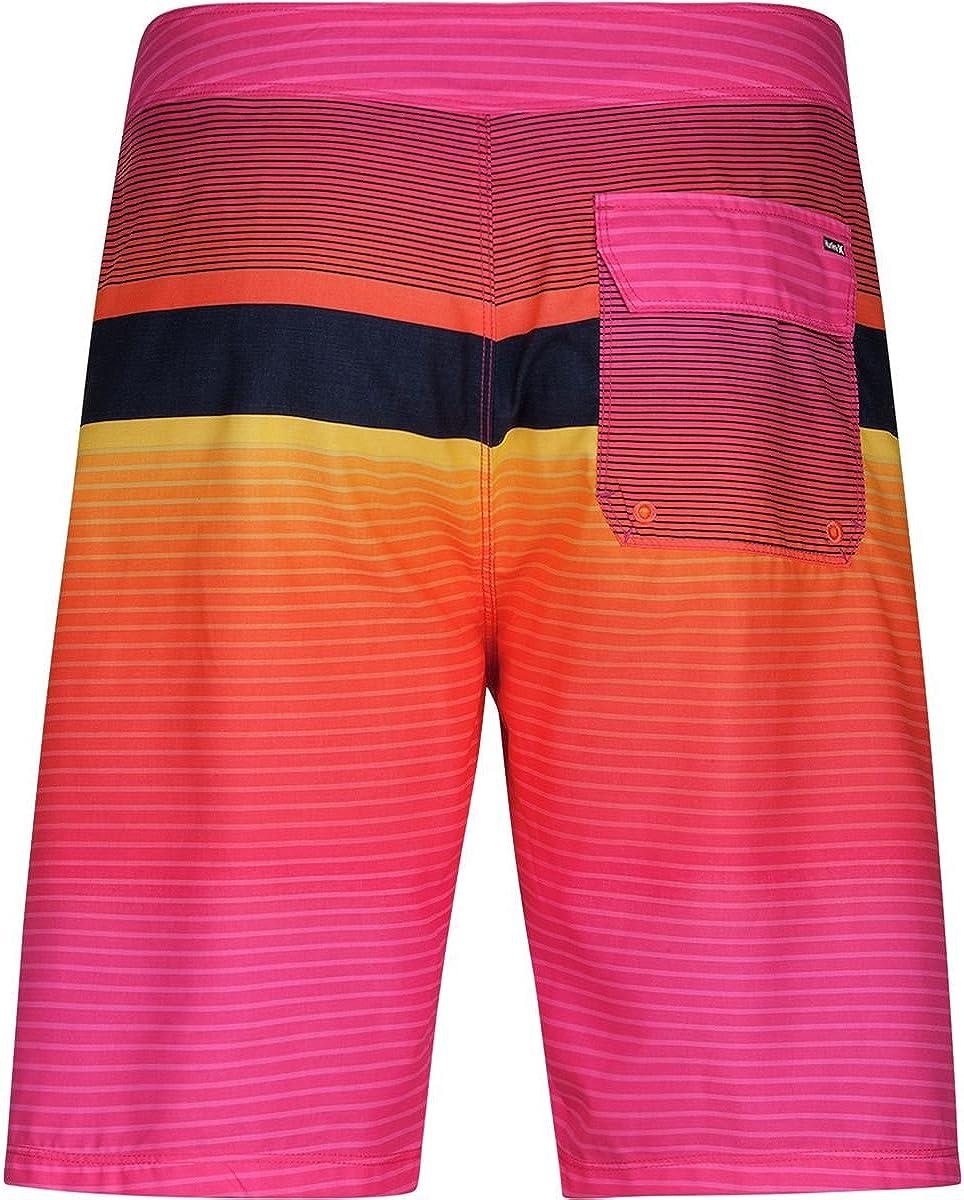 34 Pink Hurley Line-Up Mens 21 Board Shorts