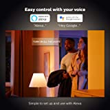 Philips Hue White and Color Ambiance 2-Pack A19 LED Smart Bulb, Bluetooth & Zigbee compatible (Hue Hub Optional), Works with Alexa & Google Assistant - A Certified for Humans Device