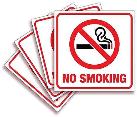 Amazon.com: Pegatina para no fumar 6 x 6 – para padres M ...