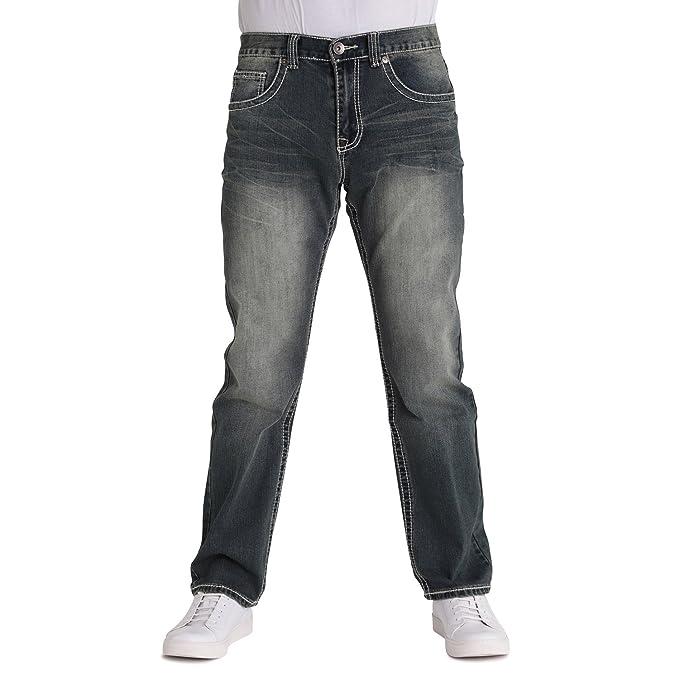 Amazon.com: True suerte Bradford para hombre jeans: Clothing