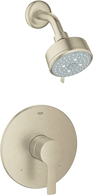 Grohe 23826EN1 Lineare Shower Combination Trim Kit Brushed Nickel