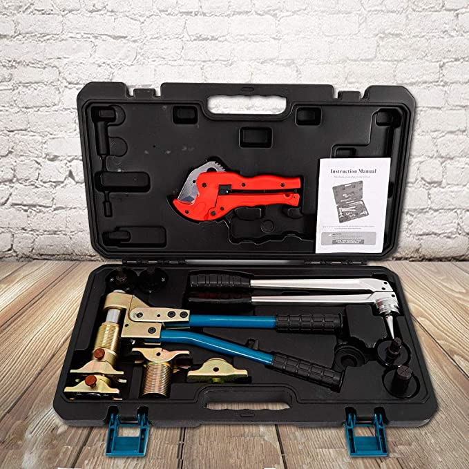 Amazon.com: PEX-1632 PPR Clamping Tools Kit Manual Rehau and ...