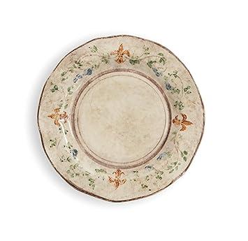 Arte Italica Medici Dinner Plate Cream  sc 1 st  Amazon.com & Amazon.com | Arte Italica Medici Dinner Plate Cream: Dinner Plates
