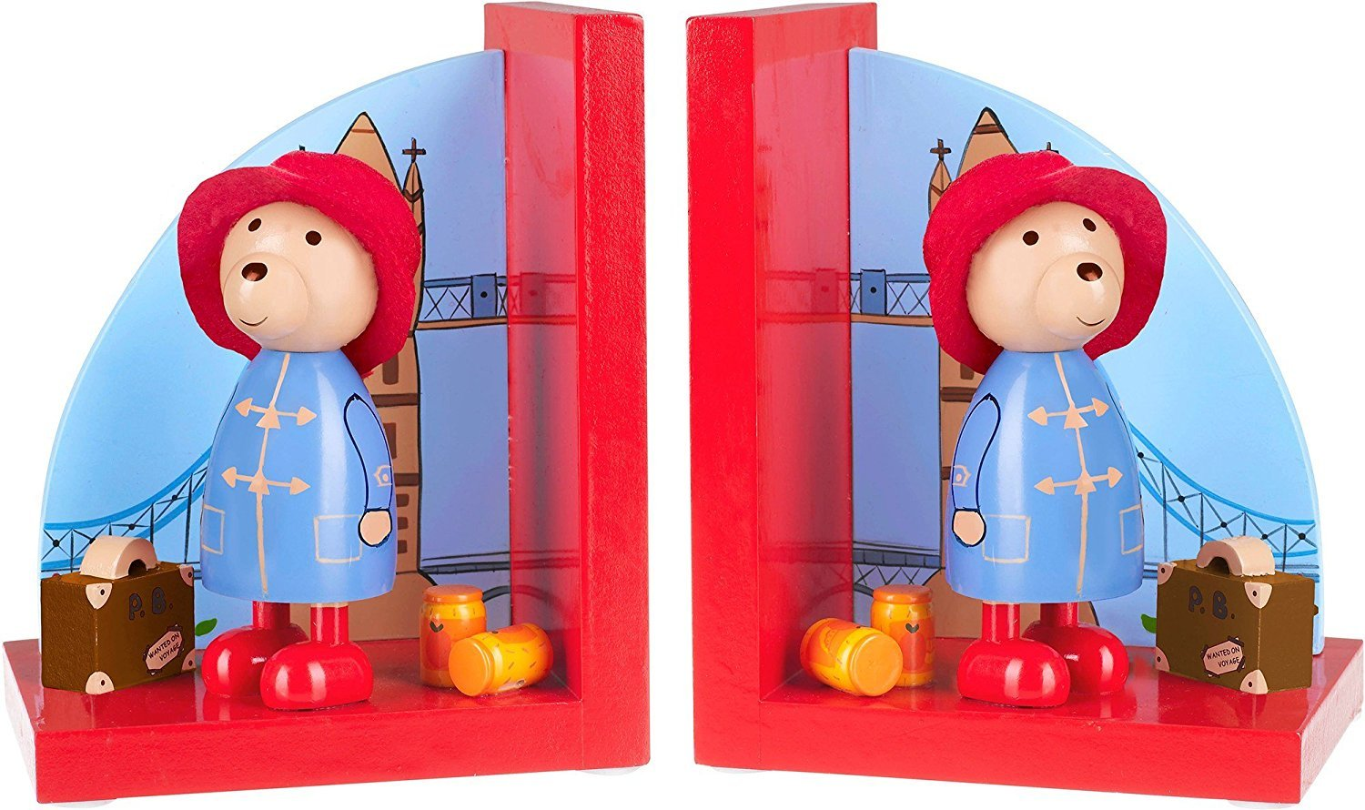 Orange Tree Toys Paddington Bear Bookends RY92K1222