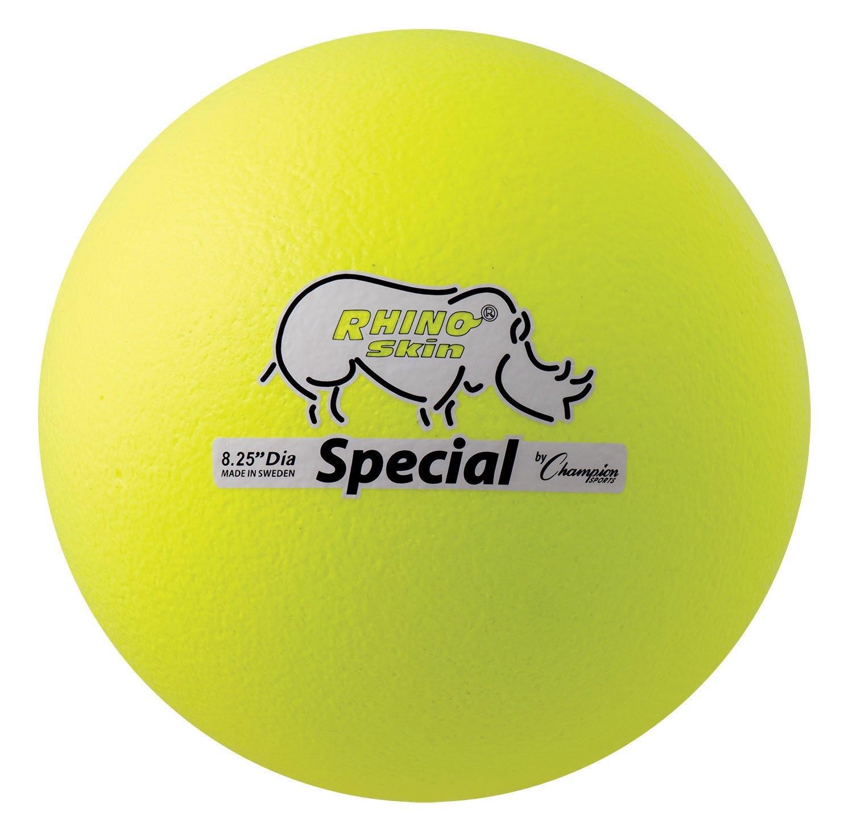 Champion Sports Rhino Skin Special Ball (Neon Yellow)
