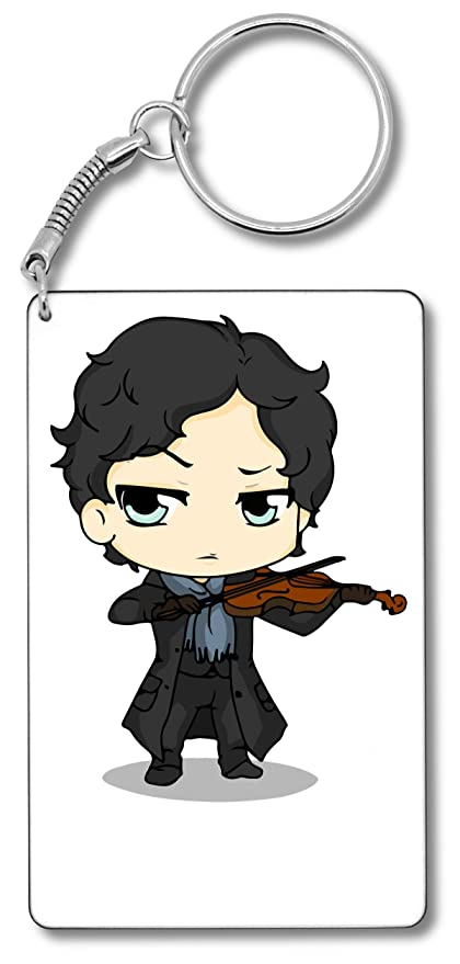 Sherlock Playing Violin Llavero Llavero: Amazon.es: Equipaje
