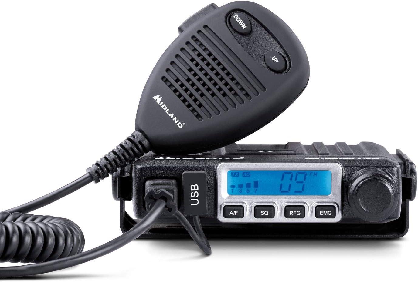 Kit Midland Cb Go Usb Cb Radio M Mini Usb Midland Lc29 Antenne Navigation