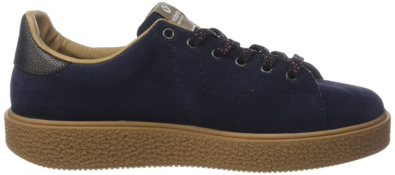 Victoria Damen Deportivo Serraje/Caramelo (Marino Sneaker Blau (Marino Serraje/Caramelo 30) 6e8eeb