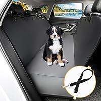 Toozey Hondendeken, achterbank met zijbescherming, waterdicht, krasbestendig, autodeken, hond achterbank met…