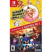 Sonic Forces + Super Monkey Ball: Banana Blitz HD Double Pack - Bundle Edition - Nintendo Switch