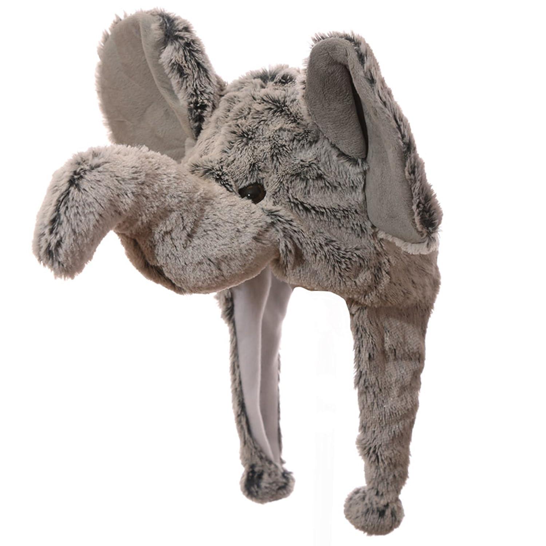 Cappello inverno a forma di elefante unisex Cappelli