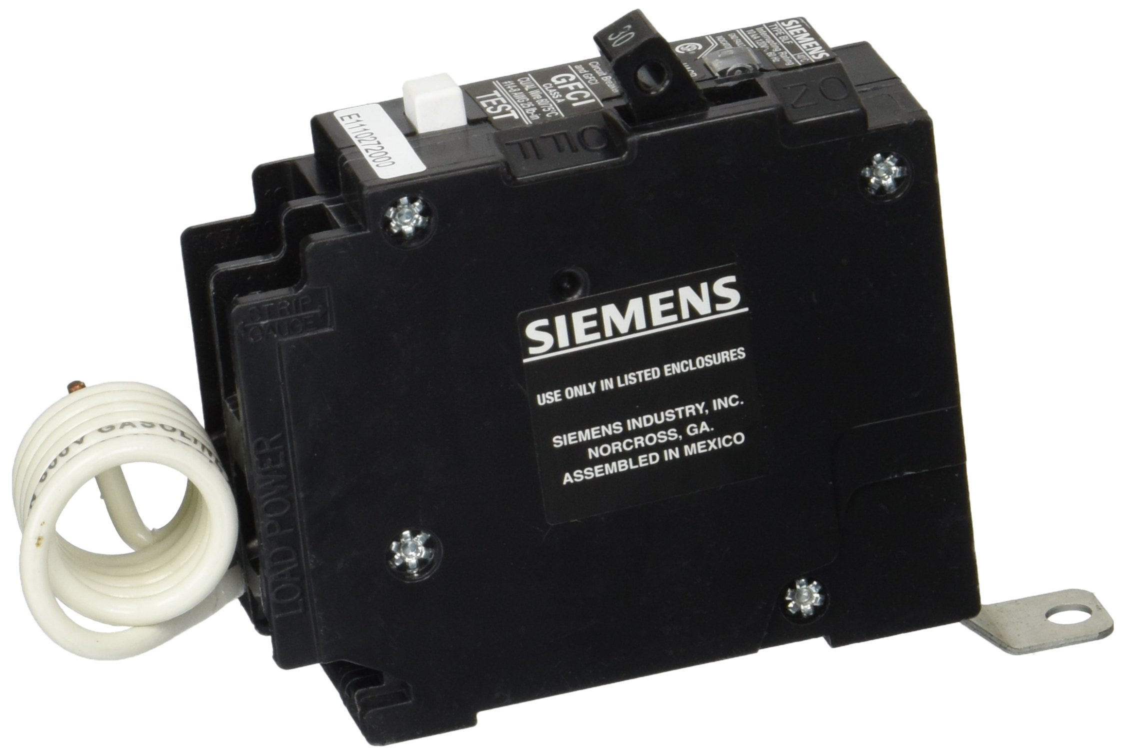 Siemens BF130 30-Amp Single Pole 120-Volt10KAIC Ground Fault Circuit interrupter