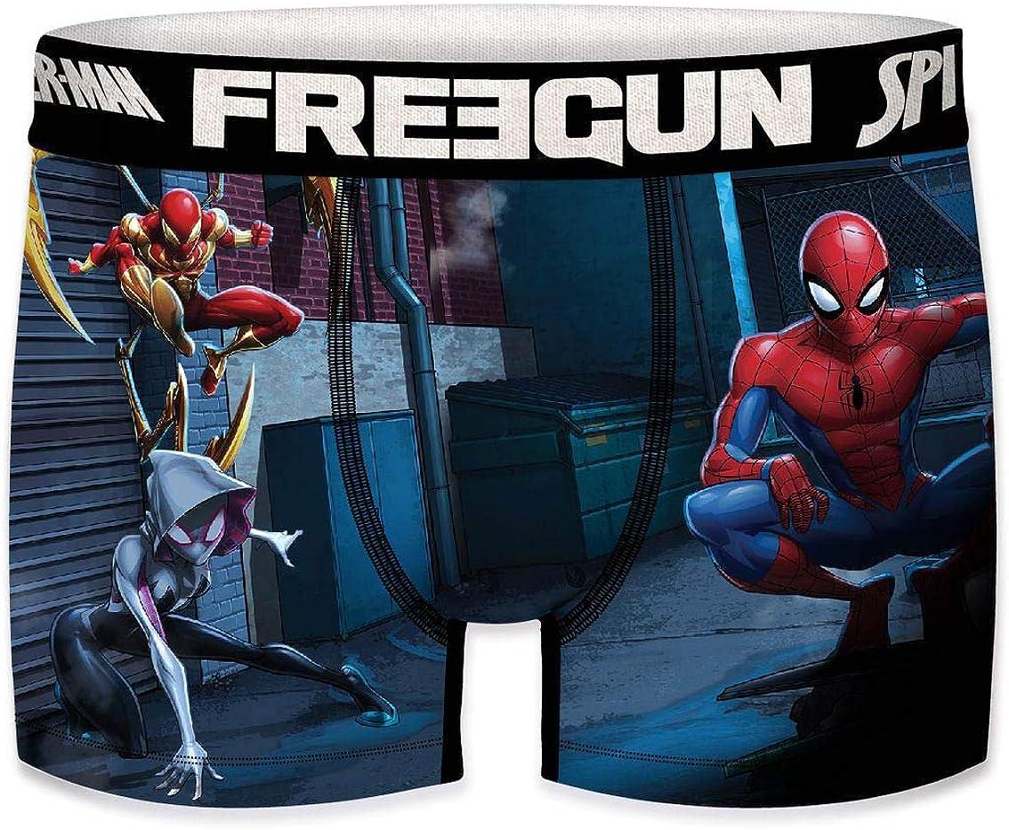 FREEGUN Boxer Boys Ultimate Spider Man