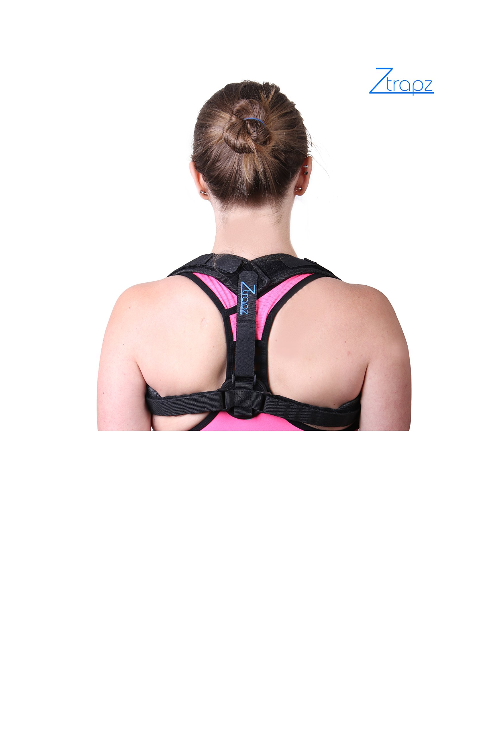 Ztrapz Back Posture Corrector for Women & Men | Corrects Slouching & Hunching w/Comfortability | New Sleek Design w/Added Comfort | Spinal & Clavical Support for Medical Problems & Rehab