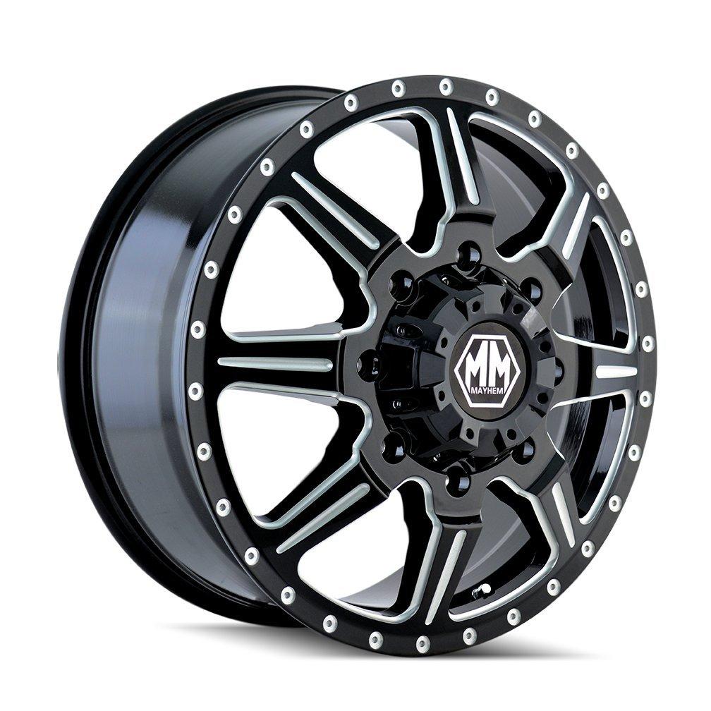 Mayhem Monstir 8101 Wheel with Painted Finish (19.5x6.75''/8x165.1mm)