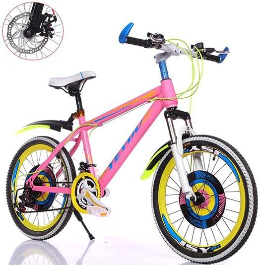 HUALQ Bicicleta Bicicleta de Montaña para Niños y Niñas Niños ...
