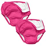 i play 2 Pack Absorbent Cloth Reusable Toddler Swim