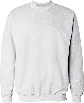 S-3XL 16 COLORS Hanes Men/'s Ultimate Cotton HEAVYWEIGHT Crewneck Sweatshirt