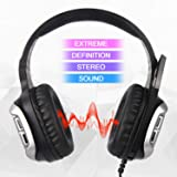Sades Stereo Gaming Headset for Xbox One PS4
