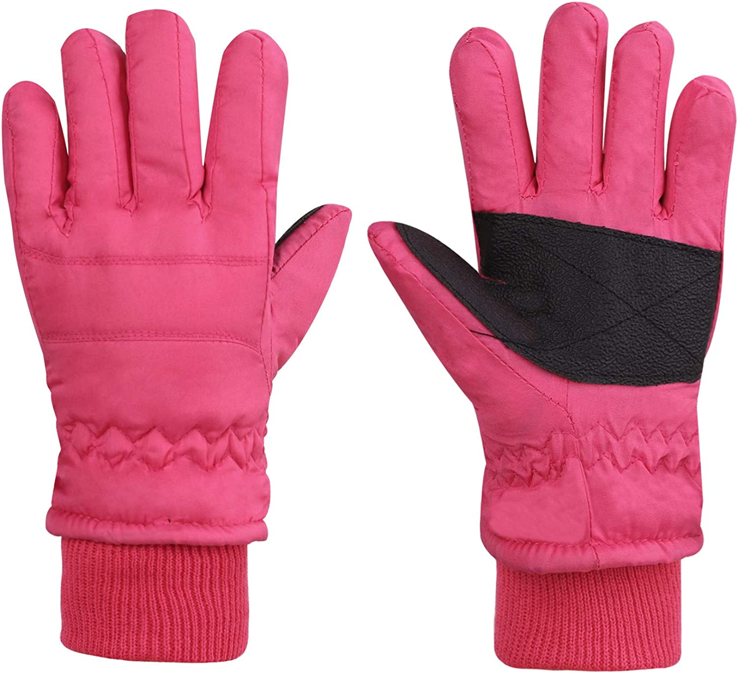 Baby Toddler Waterproof Thermal Winter Snow Fleece Lined Insulated Gloves 1-3, 3-5