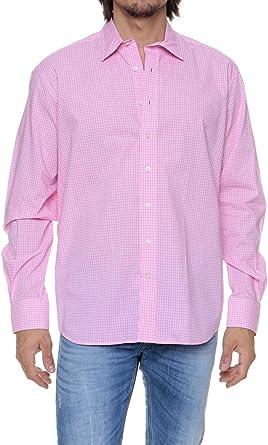 Café Coton Camisa para hombre, Color: Fucsia, Talla: 44: Amazon.es: Ropa y accesorios