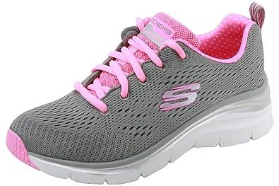 SKECHERS bas chaussures pour femmes espadrilles 12704 GRAY taille 35 GRIS soZcKpb